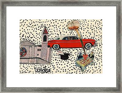 Out To Dine Framed Print by Wytse