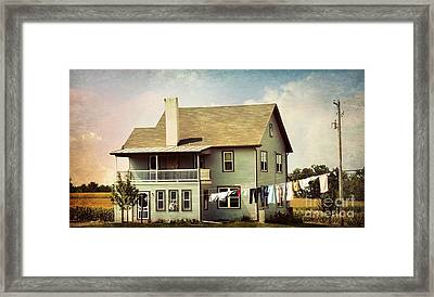 Out To Dry Framed Print by Beth Ferris Sale