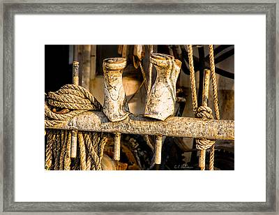 Out To Dry Framed Print by Christopher Holmes