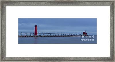 Out To Lake Michigan Framed Print by Twenty Two North Photography