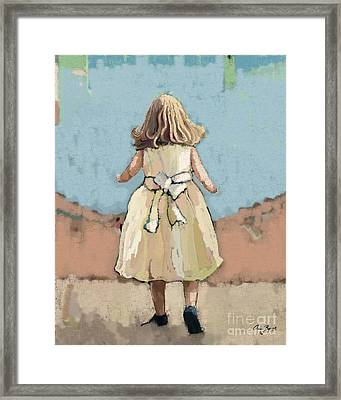 Out To Play Framed Print