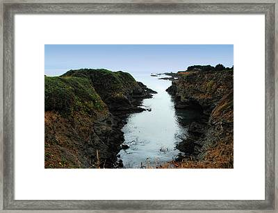 Out To The Sea Framed Print
