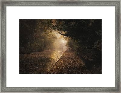 Out Walking Framed Print by Chris Fletcher