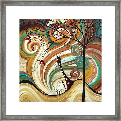 Out West II By Madart Framed Print by Megan Duncanson