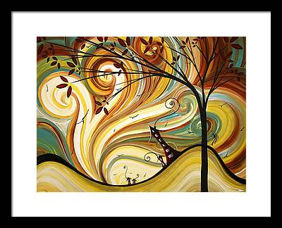 Upbeat Framed Prints