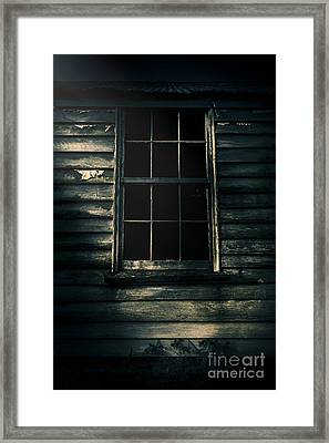 Outback House Of Horrors Framed Print