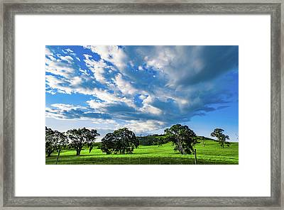 Outbound  Framed Print