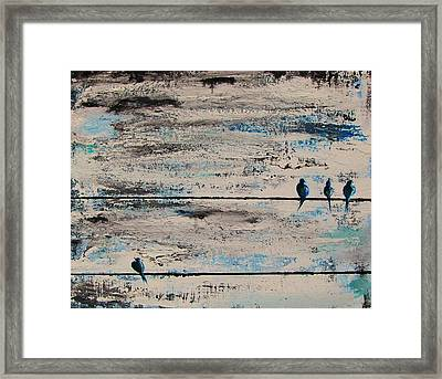 Outcast Framed Print by Steffen  Anderson