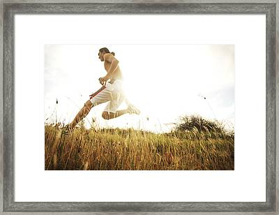 Outdoor Jogging II Framed Print by Brandon Tabiolo - Printscapes
