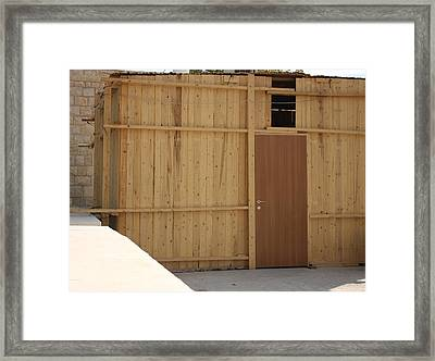 Framed Print featuring the photograph Outdoor Living by Julie Alison
