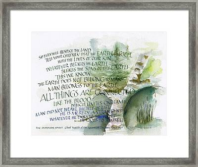 Outdoor Spirit Framed Print by Judy Dodds