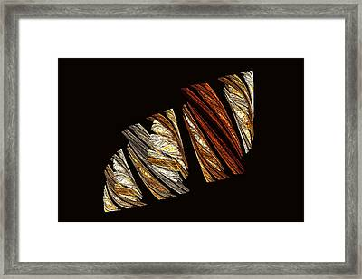 Outdoors Interrupted Framed Print