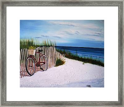 Outer Banks Beach Framed Print