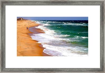 Outer Banks Beach North Carolina Framed Print