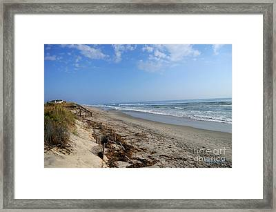 Outer Banks Morning Framed Print