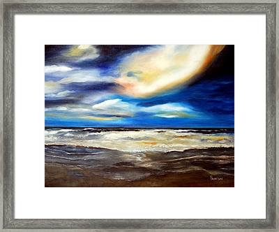 Outer Banks Nc Framed Print by Phil Burton