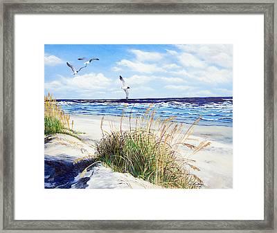 Outer Banks Framed Print by Pamela Nations