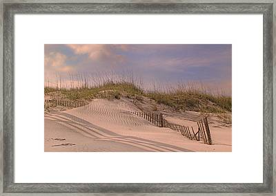 Outer Banks Rule Framed Print