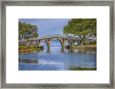 Outer Banks Whalehead Club Bridge  Framed Print by Randy Steele