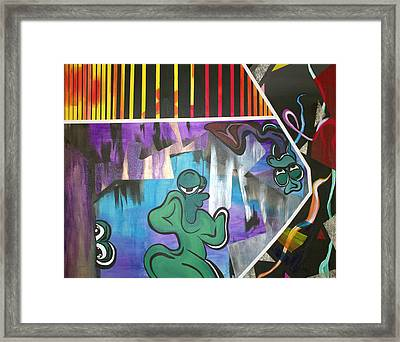 Outer Beings Framed Print