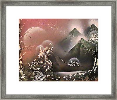 Outer Limits Framed Print by My Imagination Gallery