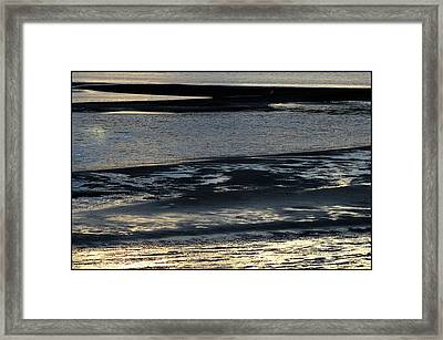 Outgoing Tide Framed Print by Mina Thompson