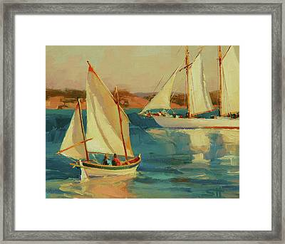 Outing Framed Print