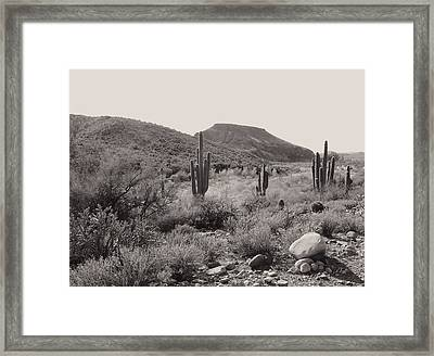 Outlaw Territory Framed Print by Gordon Beck