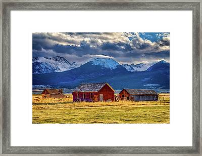 Outliers Framed Print