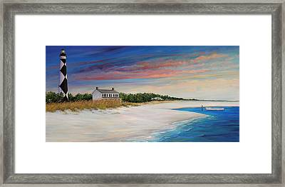 Outlook II Framed Print by Sharon Kearns
