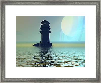 Outpost Framed Print