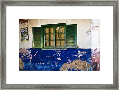 Outpost Framed Print by Sarita Rampersad