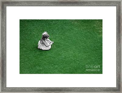 Outside Framed Print by Dan Holm
