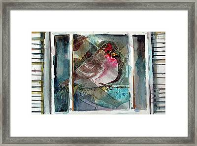 Outside Icy Inside Winter Framed Print by Mindy Newman