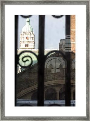 Outside In Framed Print by Jez C Self
