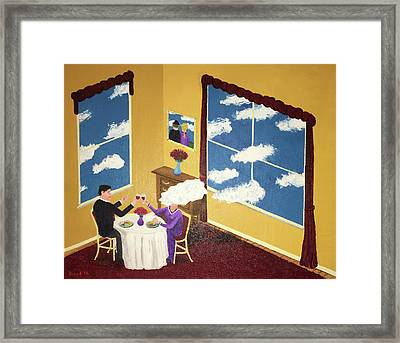 Outside In Framed Print by Thomas Blood
