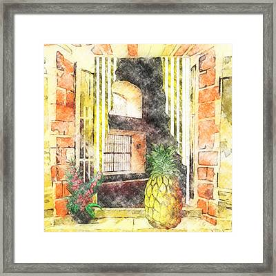 Outside Looking In Framed Print by L Wright