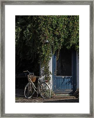 Outside Number Five Framed Print by Odd Jeppesen
