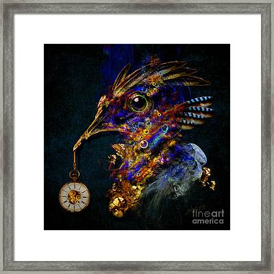 Outside Of Time Framed Print
