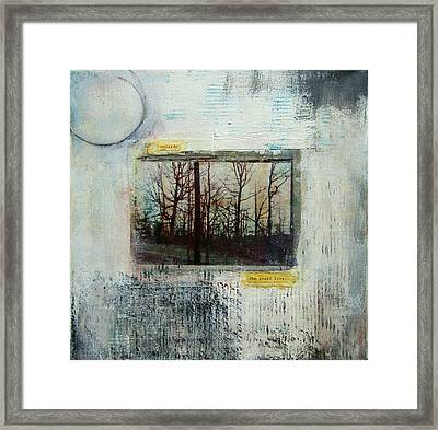 Outside, She Could Be Free Framed Print
