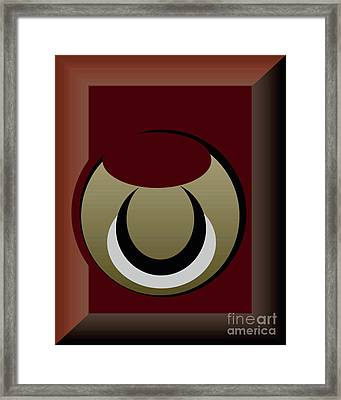 Framed Print featuring the digital art Outside The Box by John Krakora