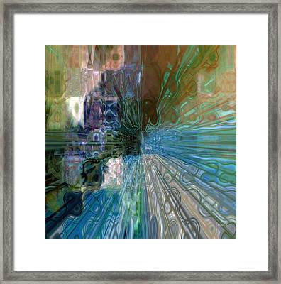 Outside The Norm Framed Print by Fania Simon