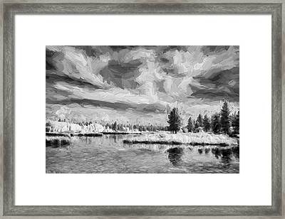 Outside Wonder II Framed Print