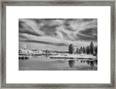Outside Wonder Framed Print