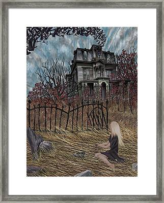 Outskirts Of Ipswich Framed Print by Jamison Smith
