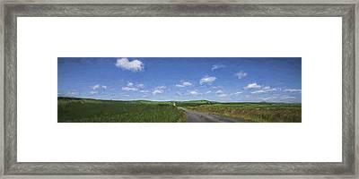 Outskirts On The Palouse II Framed Print