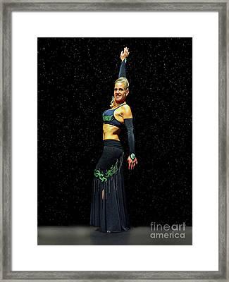 Outstanding Performance Framed Print