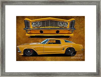 Outstanding Riviera Framed Print by Jim  Hatch