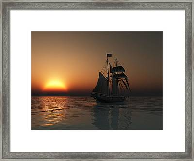 Outward Bound Framed Print by Timothy McPherson