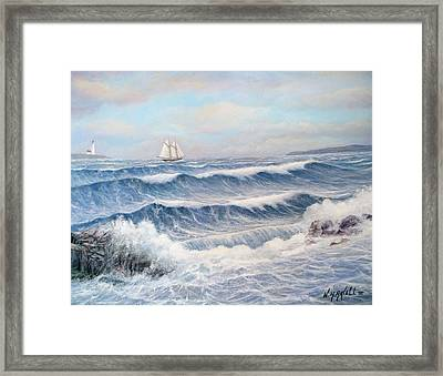 Outward Bound Framed Print by William H RaVell III